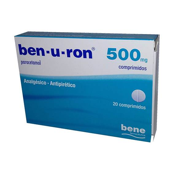 Ben-U-Ron, 500 mg x 20 comp