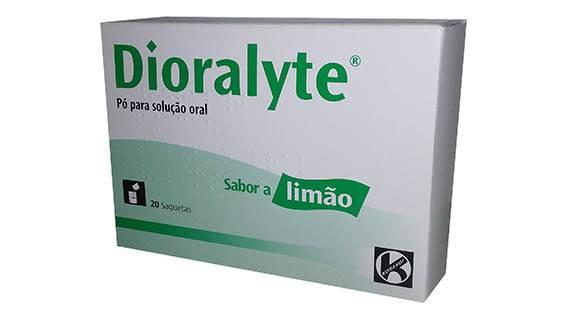 Dioralyte (Sabor Limão) x 20 pó sol oral saq