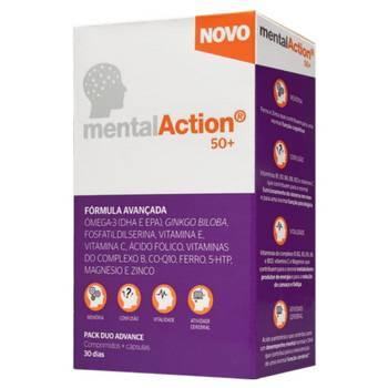 MentalAction 50+ Comprimidos x30+ Cápsulas x30