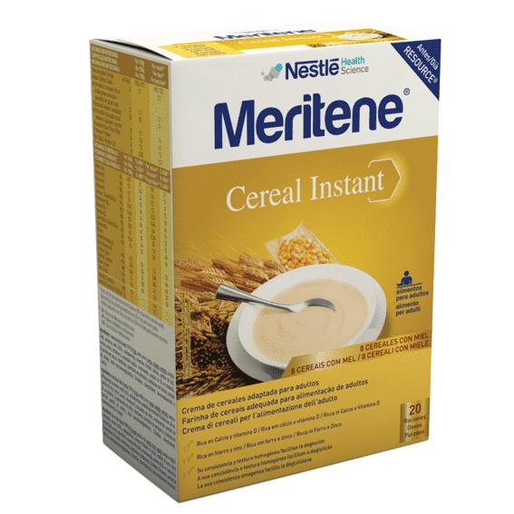 Nestlé Meritene Cereal Instant 8 Cereais e Mel 300g x2