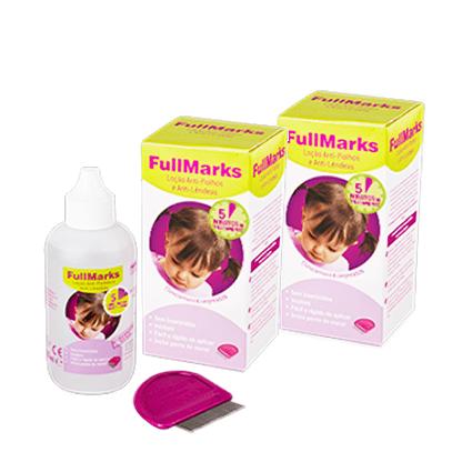 Fullmarks Loção Anti-Piolhos e Anti-Lêndeas com Desconto 50% 2ª Embalagem