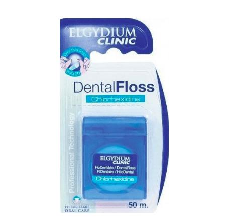 Elgydium Clinic Fio Dentário com Clorohexidina 50m