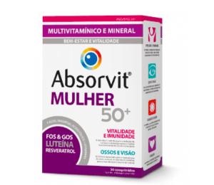 Absorvit Mulher 50+ x30