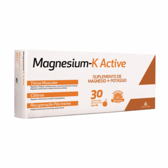 Comprimidos Efervescentes Magnesium-K Active 30 Unidade(s) com Reembolso 30%