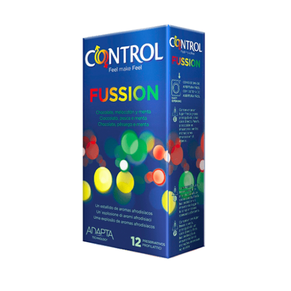 Control Fussion Preservativos x12