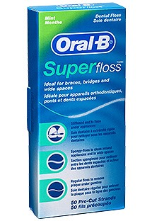 Oral-B Super Floss Fio Dentário x50