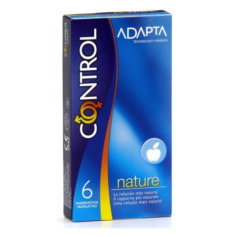 Control Adapta Nature Ad Preservativos x6