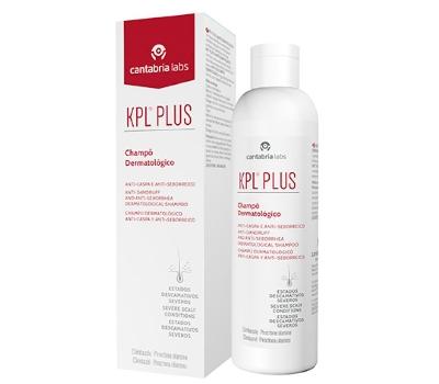 KPL Plus Champô Dematológico Anticaspa e Antisseborreico 200ml