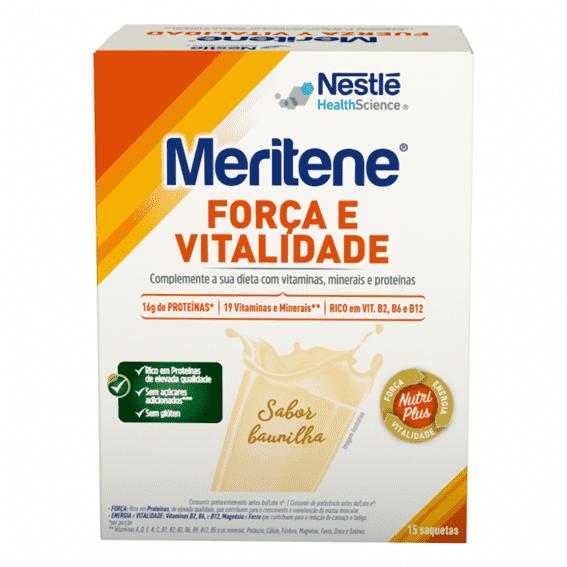 Nestlé Meritene Sabor Baunilha x15