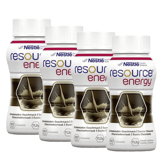 Resource Energy Chocolate 200ml x4