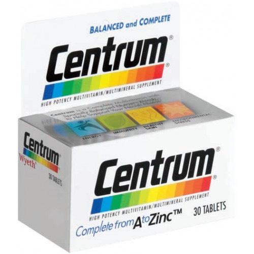 Centrum Comprimidos Revestidos x30