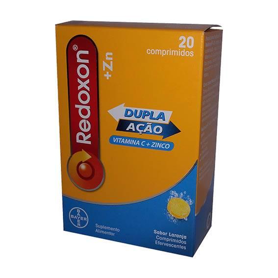 Redoxon ZN Comprimidos Efervescente Laranja x20
