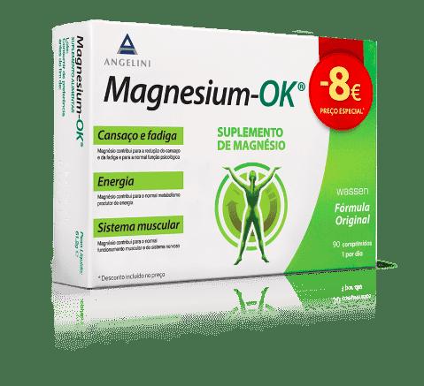 Magnesium Ok Promo Comprimidos x90