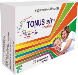 Tonus Vit Tecnilor Comprimidos x30