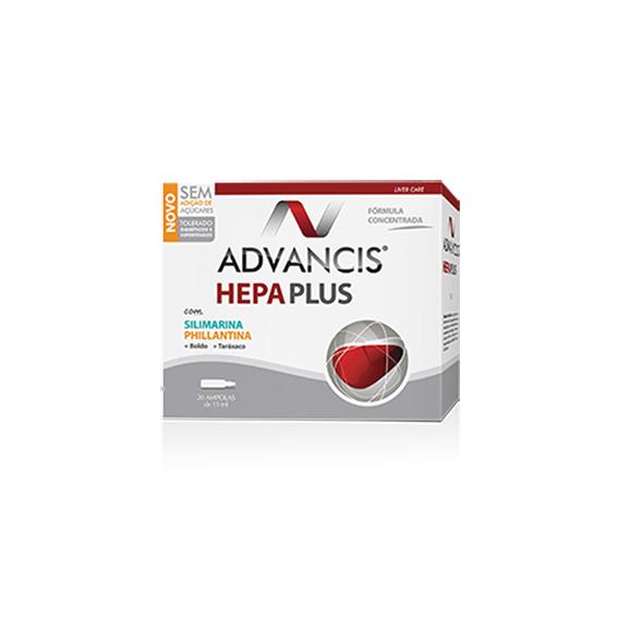 Advancis Hepa Plus Ampolas 15ml x20