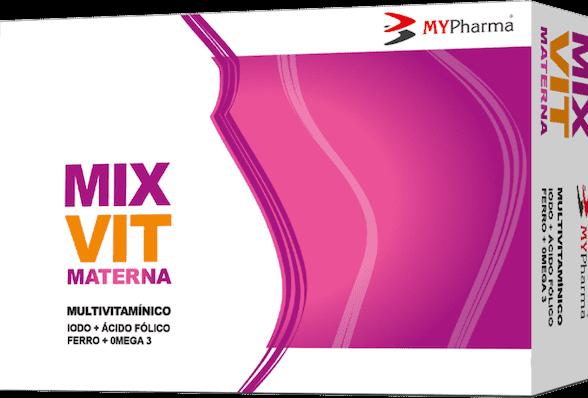 Mixvit Materna Lipid Cápsulas x30
