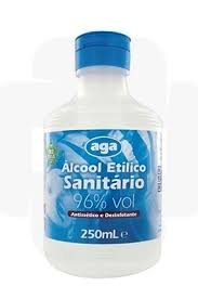 Álcool Sanitário 96 250 ml Aga