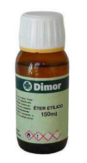 Eter Etilic Dimor Frasco 150ml