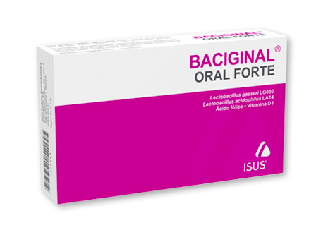 Baciginal Oral Forte Cápsulas x14