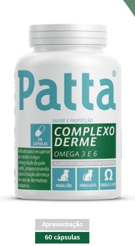 Patta Complexo Derme Cao/Gato Caps X60