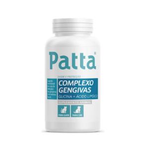 Patta Complexo Gengivas Comprimidos Cao/Gato X60