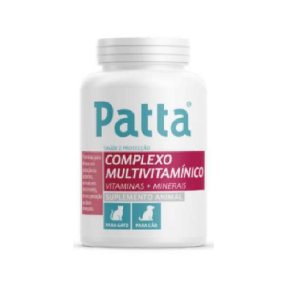 Patta Complexo Multivitaminico Comprimidos Cao/Gatox60