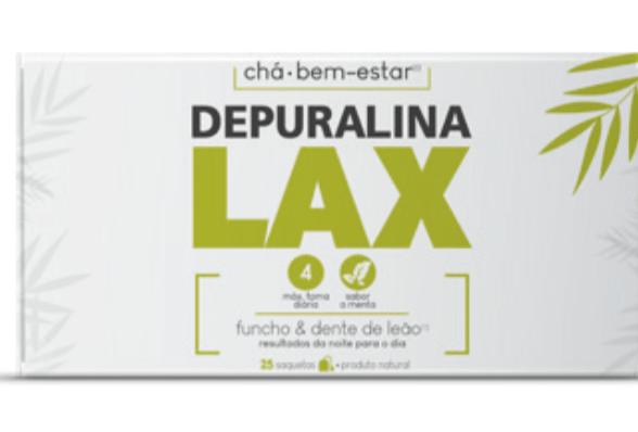 Depuralina Lax chá 25 saquetas