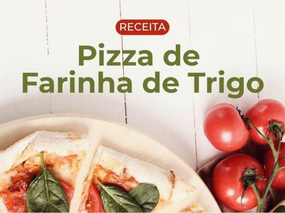 Receita de Pizza de Farinha de Tigro
